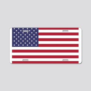 United States of America or Aluminum License Plate