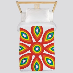 Pride Flower 2 Twin Duvet Cover