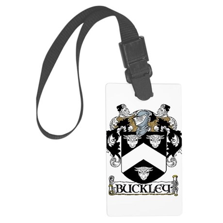 Buckley Coat of Arms Large Luggage Tag