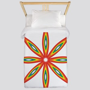 Pride Flower Twin Duvet Cover