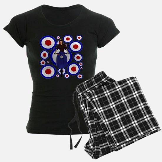 Retro Mod Girl On targets Pajamas