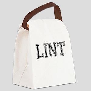 LINT, Vintage Canvas Lunch Bag