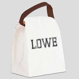 LOWE, Vintage Canvas Lunch Bag