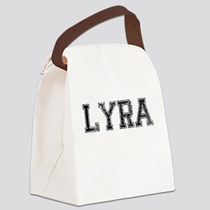LYRA, Vintage Canvas Lunch Bag