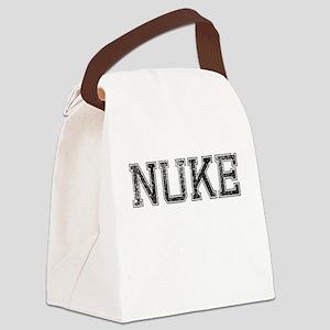 NUKE, Vintage Canvas Lunch Bag