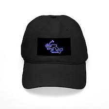 Kokopelli SCUBA Diver Black Cap