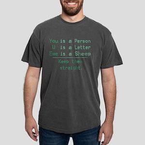 YOU U EWE Mens Comfort Colors Shirt