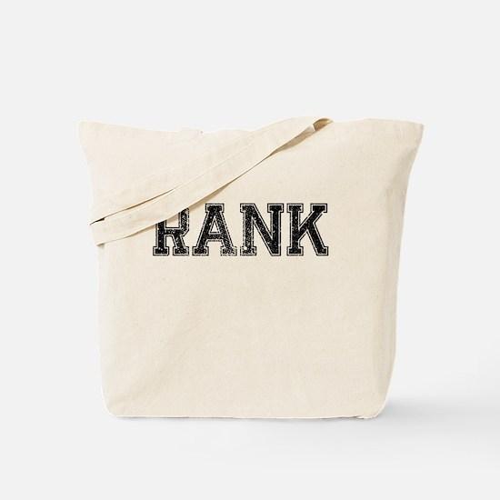 RANK, Vintage Tote Bag