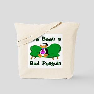 Bad Penguin Tote Bag
