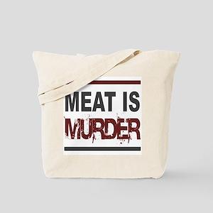 Meat Is Murder Veg*n Tote Bag