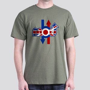 Retro Mod logo and arrows Dark T-Shirt