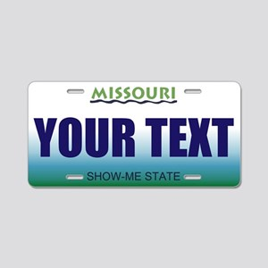 Missouri - River Graphics license plate replica