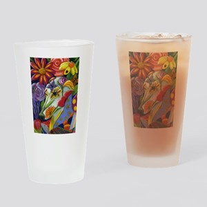 Flora Drinking Glass