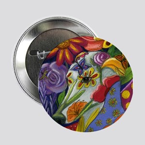 "Flora 2.25"" Button"