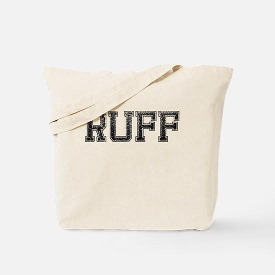 RUFF, Vintage Tote Bag