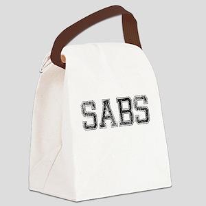 SABS, Vintage Canvas Lunch Bag