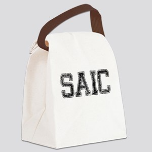 SAIC, Vintage Canvas Lunch Bag