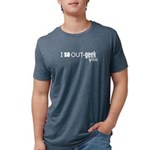 I so Out-geek you Mens Tri-blend T-Shirt