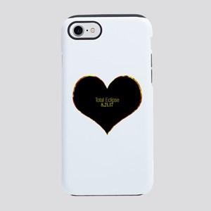 Total Eclipse 2017 Heart iPhone 7 Tough Case