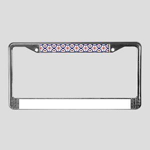 Arabesque Arabic oriental desi License Plate Frame
