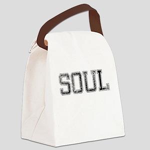 SOUL, Vintage Canvas Lunch Bag
