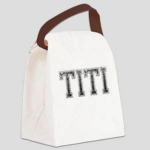 TITI, Vintage Canvas Lunch Bag