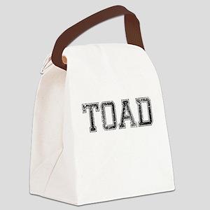TOAD, Vintage Canvas Lunch Bag
