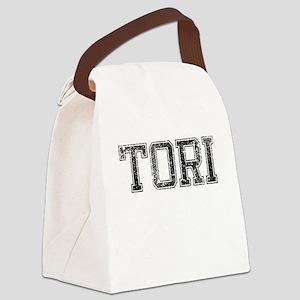 TORI, Vintage Canvas Lunch Bag