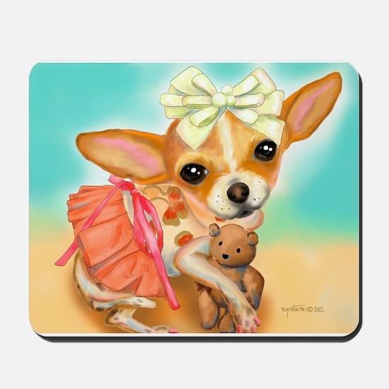 Chihuahua Princess Mousepad