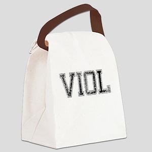 VIOL, Vintage Canvas Lunch Bag