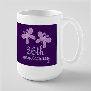 26th Anniversary Keepsake Mugs