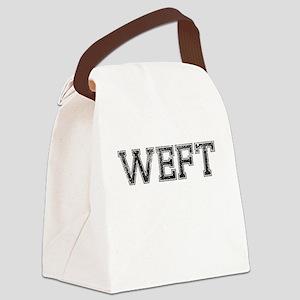 WEFT, Vintage Canvas Lunch Bag