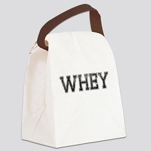 WHEY, Vintage Canvas Lunch Bag