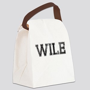 WILE, Vintage Canvas Lunch Bag