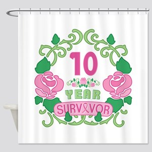BCA 10 Year Survivor Shower Curtain