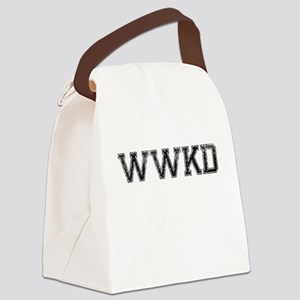 WWKD, Vintage Canvas Lunch Bag
