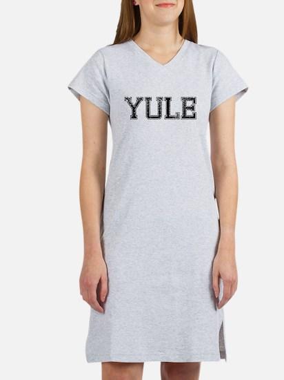 YULE, Vintage Women's Nightshirt