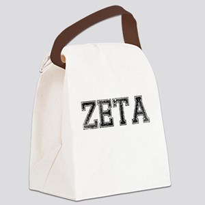 ZETA, Vintage Canvas Lunch Bag