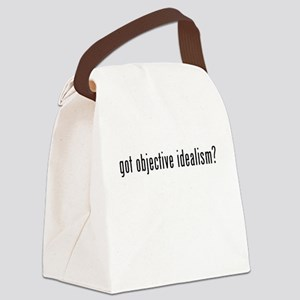 Got Objective Idealism? Canvas Lunch Bag