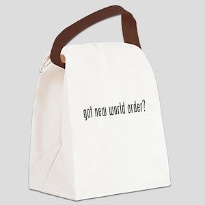 Got New World Order? Canvas Lunch Bag