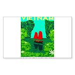 Ha Long Bay - Vietnam Pr Sticker (Rectangle 10 pk)
