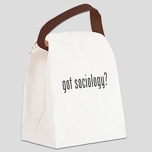 Got Sociology? Canvas Lunch Bag