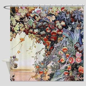 Edward Julius Detmold Fruits Shower Curtain
