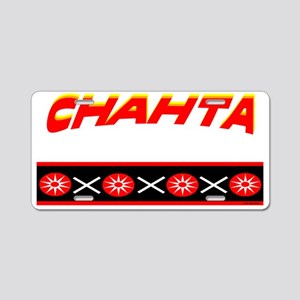 CHAHTA Aluminum License Plate