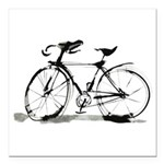 bicycle Square Car Magnet 3
