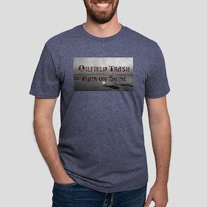 Oilfield Rain or Shine Mens Tri-blend T-Shirt