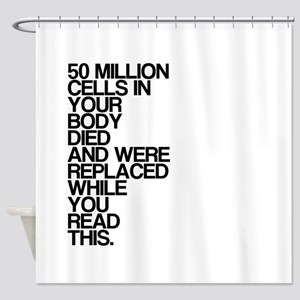 While You Read This, Shocking, Shower Curtain