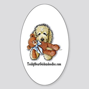 TBG's Pocket Doodle Oval Sticker