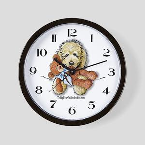 TBG's Pocket Doodle Wall Clock