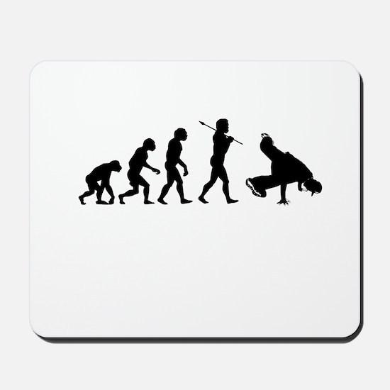 Break Dance Evolution Mousepad
